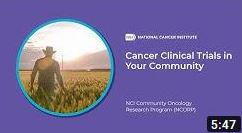 Video still of Cancer Clinical Trials in Your Community
