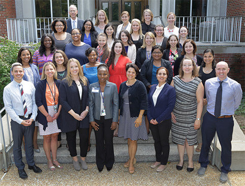 Group photo of the 2016-2017 CPFP Fellows.