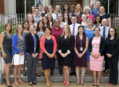 Group photo of the 2015-2016 CPFP Fellows