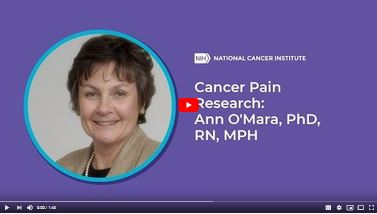 Video still of Cancer Pain Research