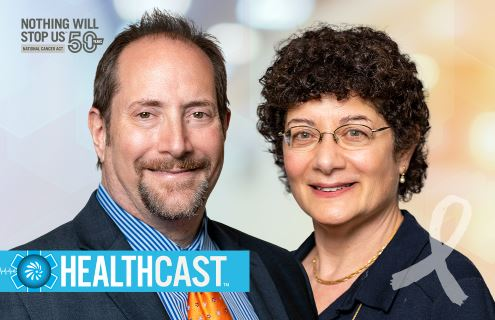Leaders in NCI's Division of Cancer Prevention: Dr. Philip Castle, Director and Dr. Lori Minasian, Deputy Director.