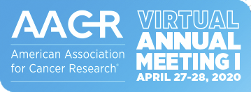 Logo AACR Virtual Annual Meeting I: April 27-28, 2020
