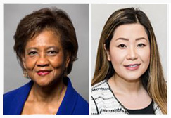 Portraits of Worta McCaskill-Stevens & Jennifer Pak