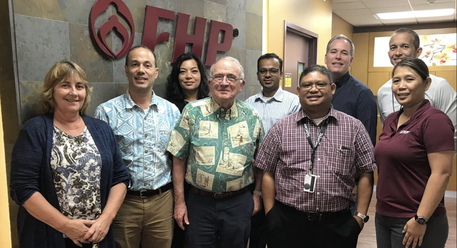 University of Hawaii Cancer Center Minority/Underserved NCORP team visiting FHP Health Center-Guam