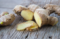 An image of ginger root.