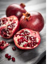 Image of whole pomegranates