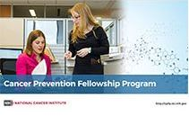 Title frame of the Cancer Prevention Fellowship Program video.