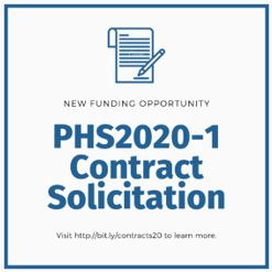PHS2020-1 Contract Solicitation