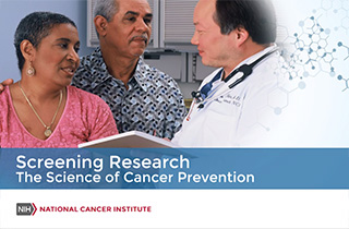 Video still of Screening Research - The Science of Cancer Prevention.